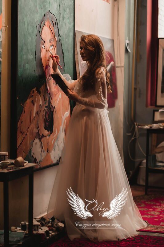 """Свадебное платье напрокат ALIZA свадебное платье  """"Saffi"""" - фото 5"""