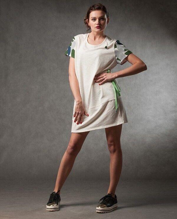 Платье женское MISUTERI Платье Nekutai White SS0127 - фото 1