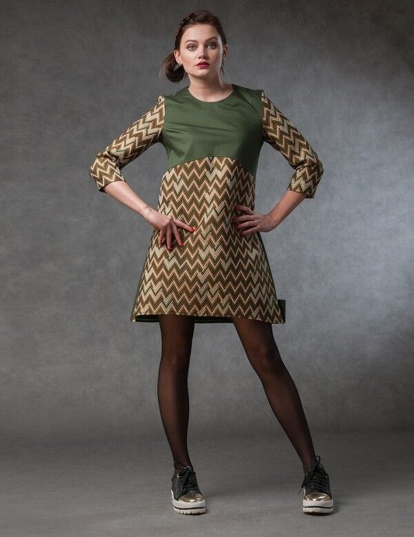 Платье женское MISUTERI Платье Barubu Green MSS0072 - фото 1
