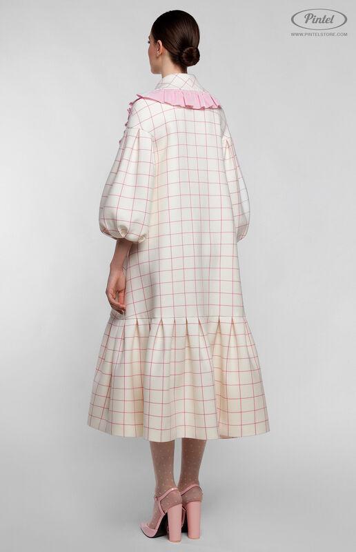 Верхняя одежда женская Pintel™ Пальто силуэта «Трапеция» Freja - фото 3
