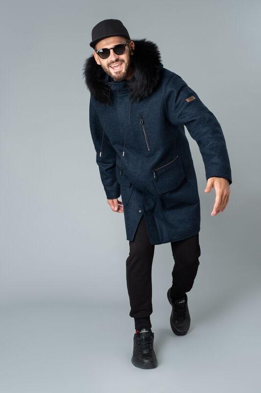 Верхняя одежда мужская Etelier Пальто мужское утепленное 6М-9294-1 - фото 2