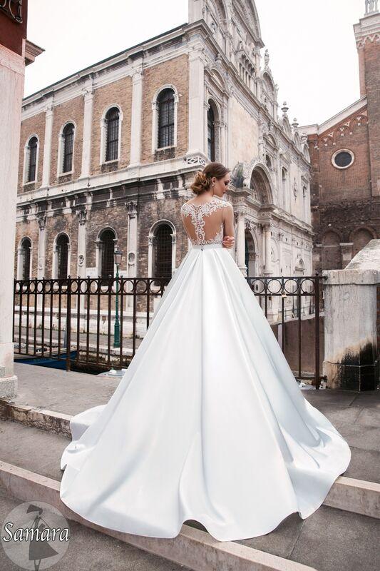 Свадебное платье напрокат Bonjour Платье свадебное «Samara» из коллекции LE DELICE 2018 - фото 5