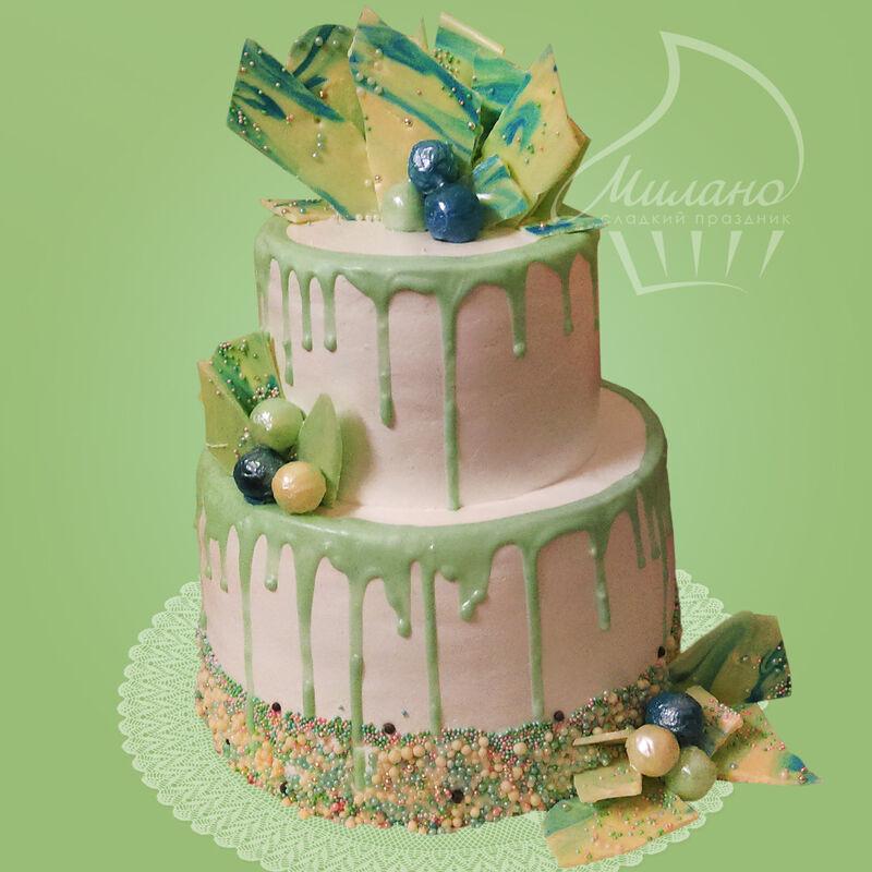 Торт Милано Свадебный торт №14 - фото 1
