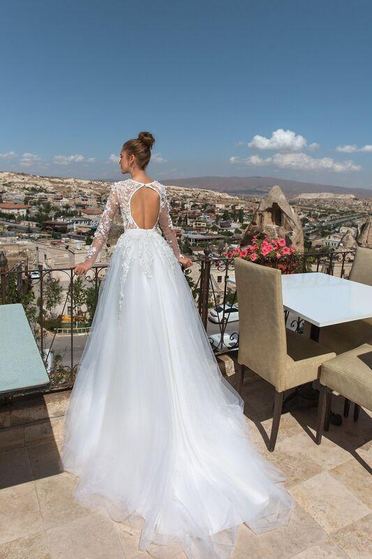 Свадебный салон Eva Lendel Свадебное платье  Navi - фото 3