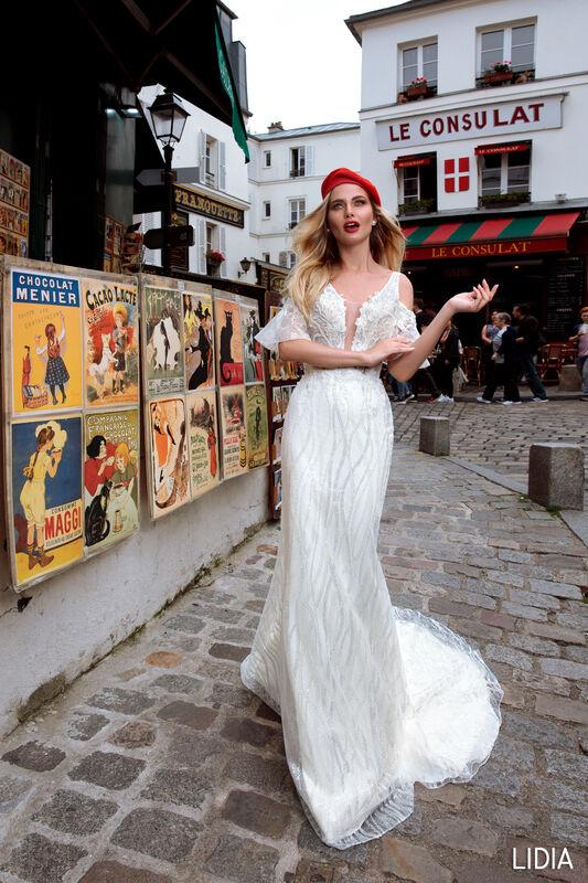 Свадебный салон Bonjour Galerie Платье свадебное LIDIA из коллекции BON VOYAGE - фото 5