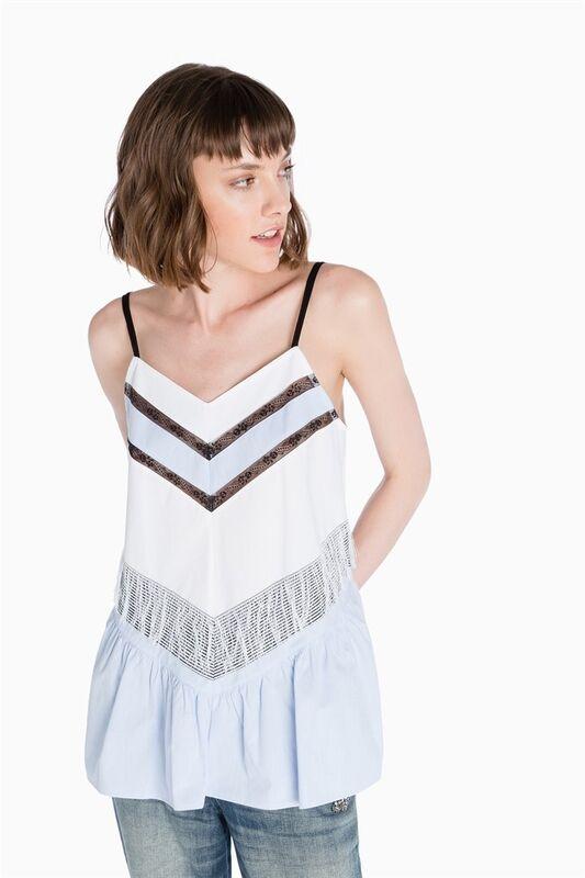 Кофта, блузка, футболка женская TWIN-SET Блуза S7T TS7272 - фото 1