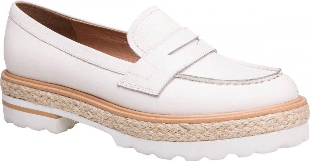 Обувь женская Ekonika Туфли женские 1288-01 white - фото 1