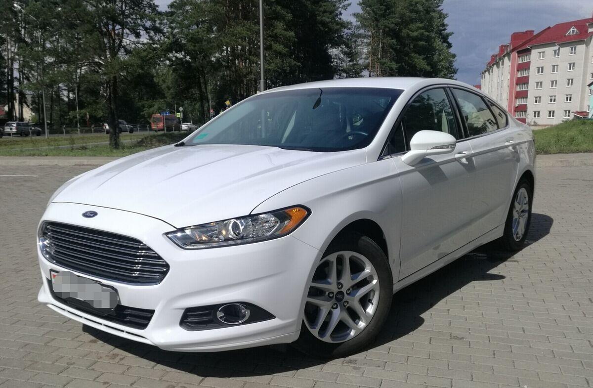Прокат авто Ford Mondeo (Fusion) AT - фото 1