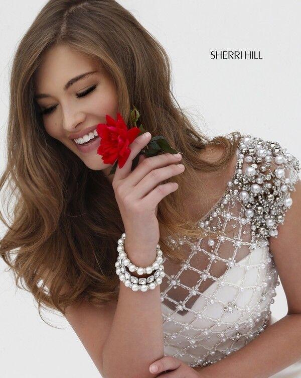Вечернее платье Sherri Hill Кроп-топ 32309-3 - фото 4
