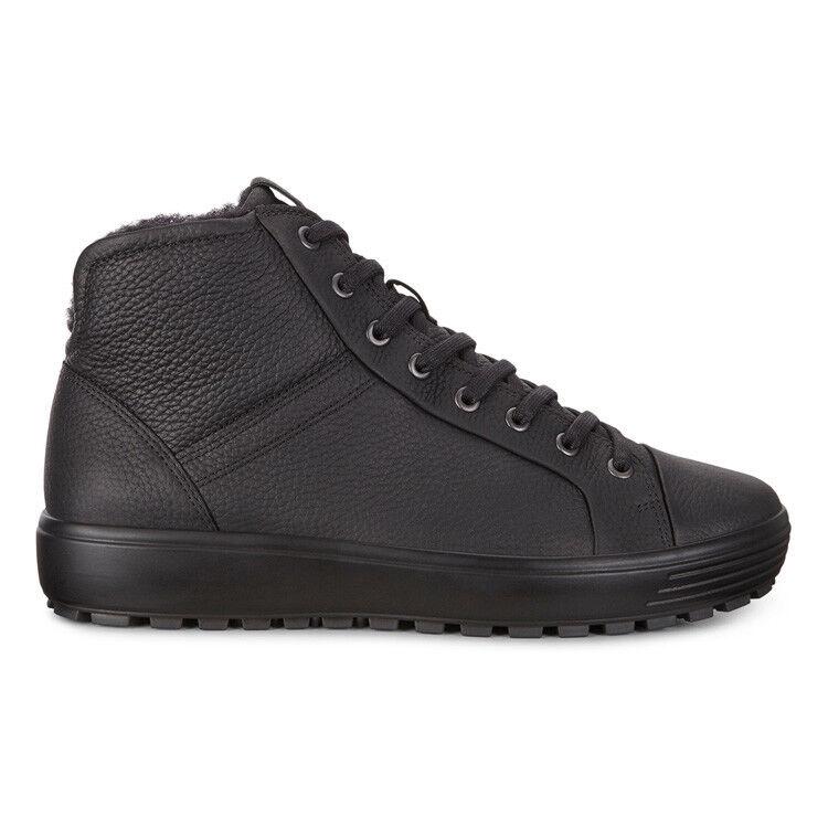Обувь мужская ECCO Кеды высокие SOFT 7 TRED 450214/01001 - фото 3