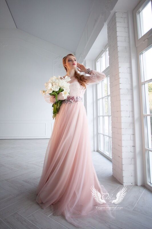 Свадебное платье напрокат ALIZA платье на роспись Alexxia - фото 4