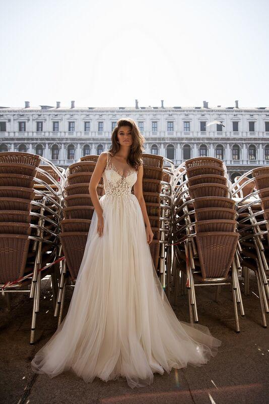 """Свадебный салон ALIZA свадебное платье  """"Luchye"""" - фото 3"""
