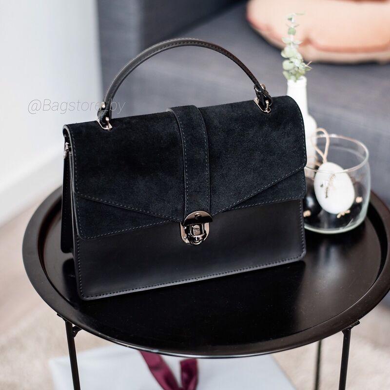 Магазин сумок Vezze Кожаная женская сумка C00436 - фото 1