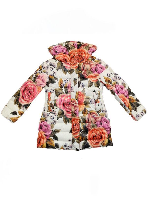 Верхняя одежда детская Monnalisa Пальто для девочки 196120 6086 0001 - фото 1