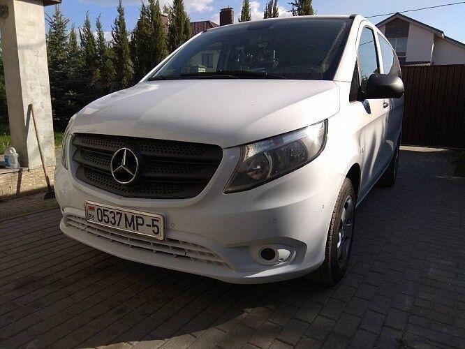 Прокат авто Mercedes-Benz V-Class белый - фото 4