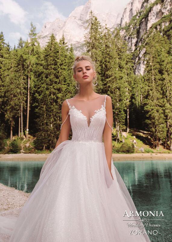 Свадебный салон Armonia Свадебное платье Zorano - фото 2