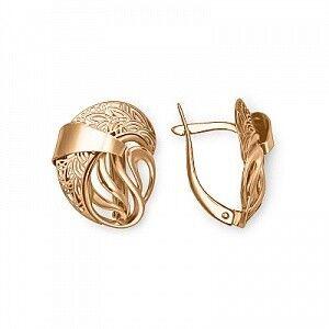 Ювелирный салон Платина Серьги золотые 02-3839-00-000-1110-48 - фото 1