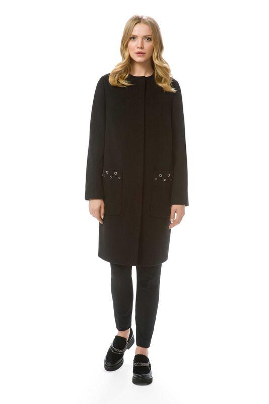 Верхняя одежда женская Elema Пальто женское демисезонное Т-6721 - фото 1