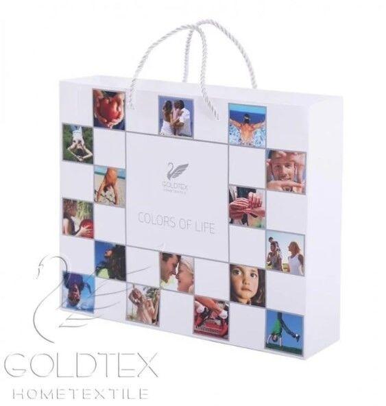 Подарок Голдтекс Двуспальное однотонное белье «Color of Life» Небесная акварель - фото 3