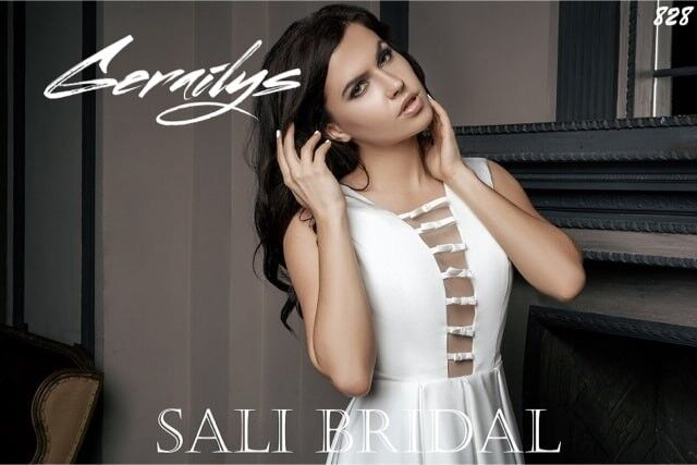 Свадебный салон Sali Bridal Свадебное платье 828 - фото 2