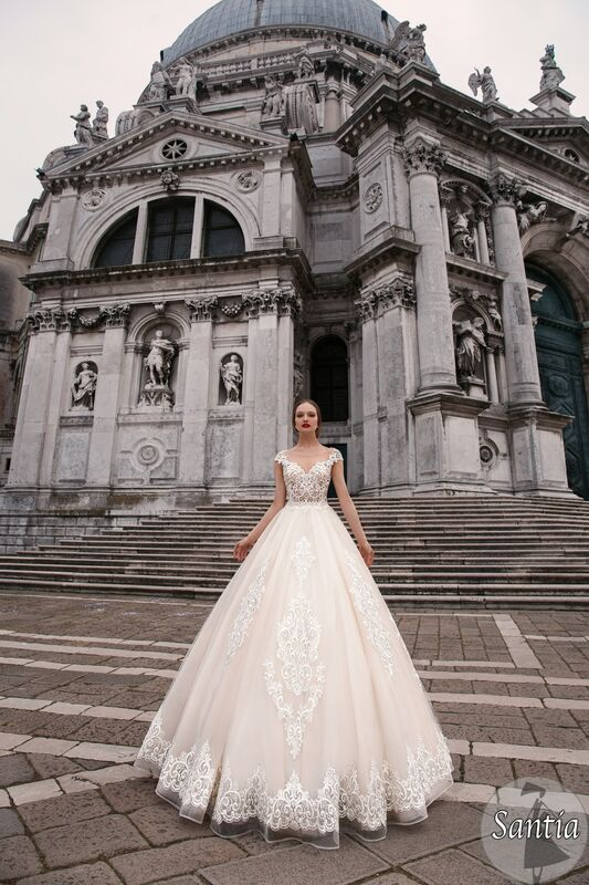 Свадебное платье напрокат Bonjour Galerie Платье свадебное «Santia» из коллекции LE DELICE - фото 1