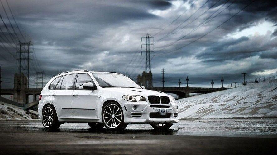 Прокат авто BMW X5 белого цвета - фото 2