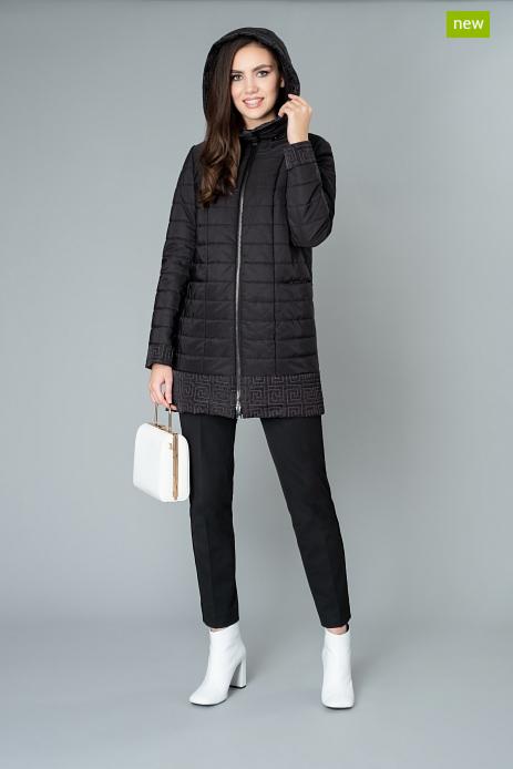 Верхняя одежда женская Elema Пальто женское плащевое утепленное 5-9080-1 - фото 1