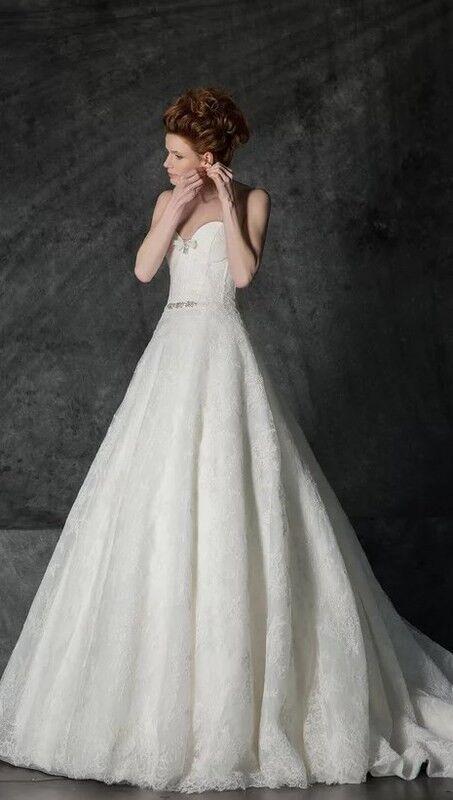 Свадебное платье напрокат Edelweis Платье свадебное «Neiva» - фото 1