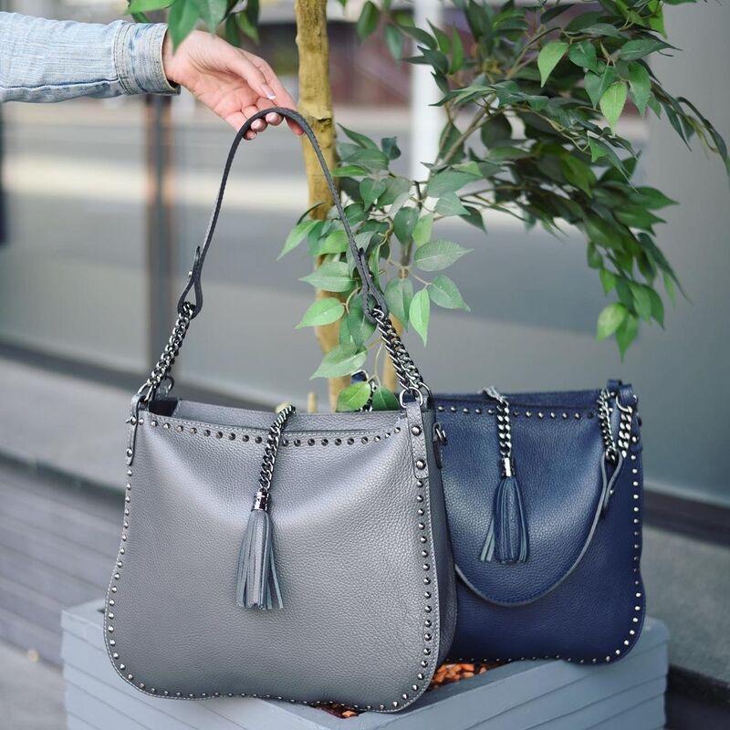 Магазин сумок Vezze Кожаная женская сумка C00537 - фото 1
