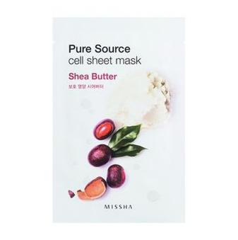 Уход за лицом Missha Маска-пленка с экстрактом масла ши Pure Source - фото 1