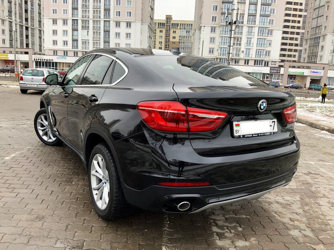 Прокат авто BMW X6 2016 г.в. - фото 4