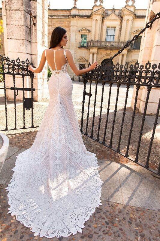 Свадебное платье напрокат Crystal Свадебное платье Lizzi - фото 3