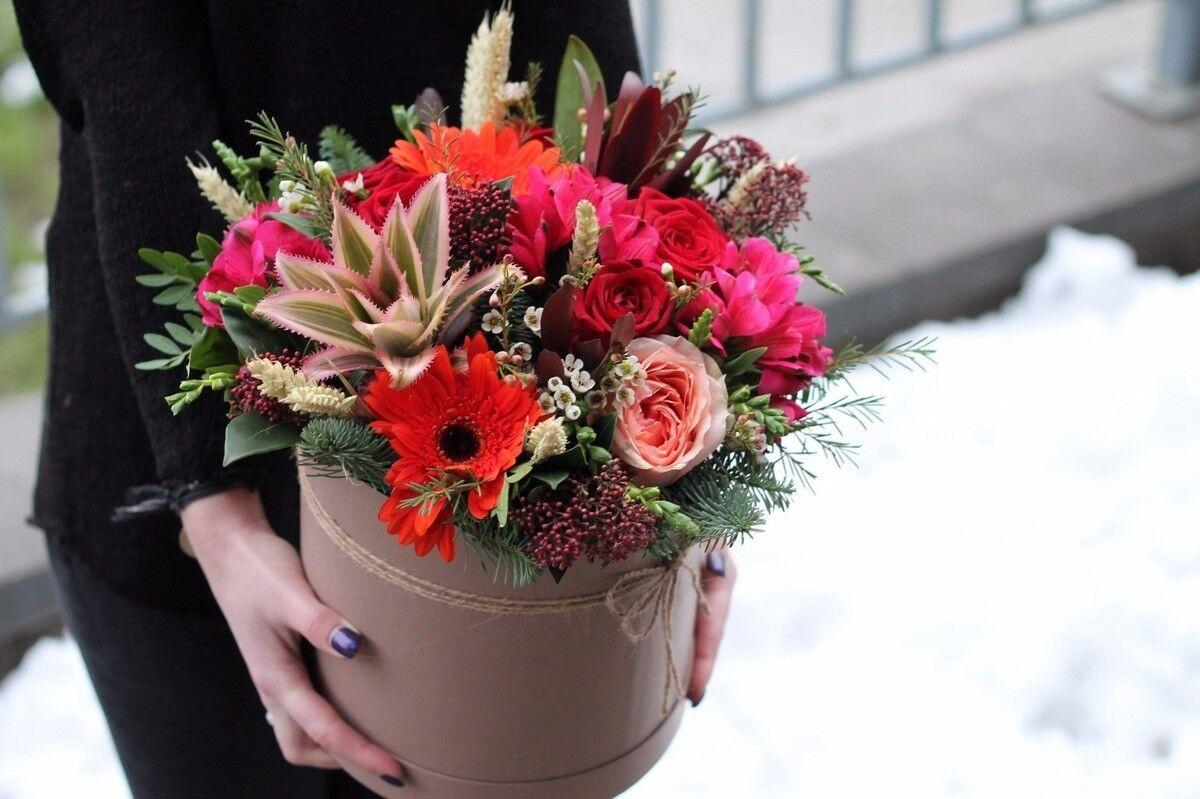 Магазин цветов Cvetok.by Композиция «Ананасовая страсть» - фото 3