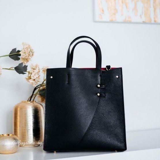 Магазин сумок Vezze Кожаная женская сумка C00463 - фото 2