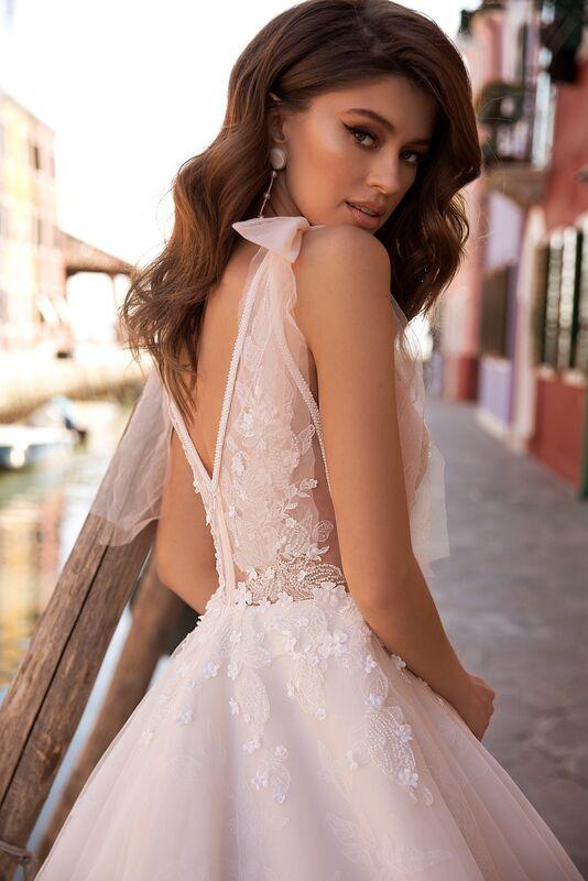 """Свадебное платье напрокат ALIZA свадебное платье  """"Faustinny"""" - фото 3"""