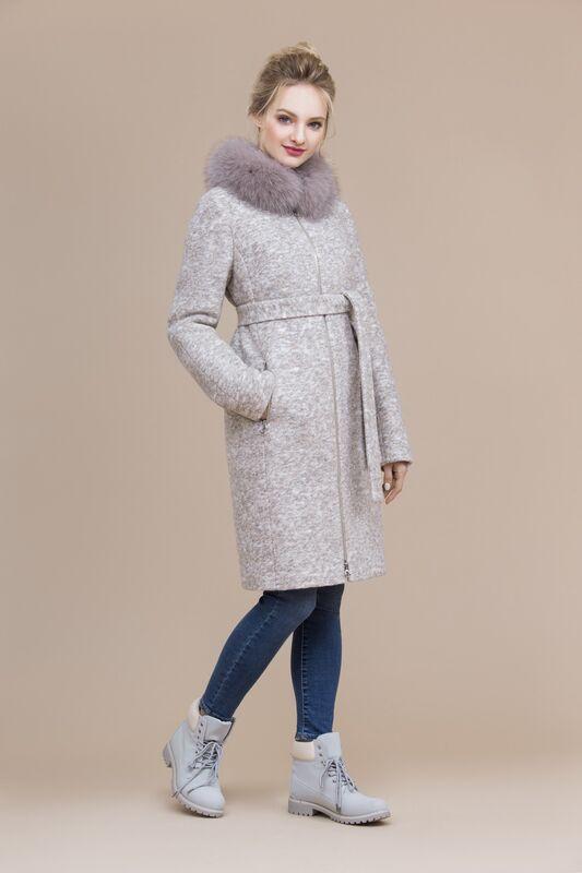Верхняя одежда женская Elema Пальто женское зимнее 7-8012-1 - фото 3