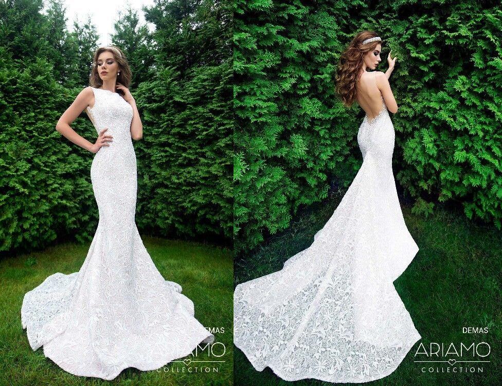 Свадебное платье напрокат Ariamo Bridal Платье свадебное Demas - фото 2