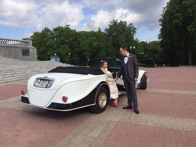 Прокат авто Excalibur Белый - фото 4