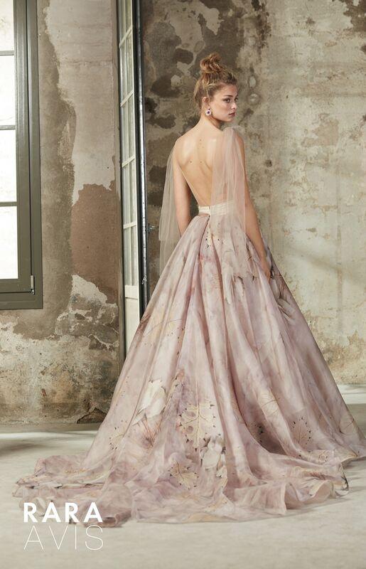 Свадебный салон Rara Avis Свадебное платье Floral Paradise  Elba - фото 2