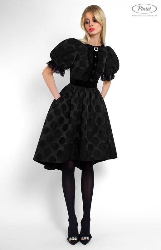 Платье женское Pintel™ Приталенное платье с широкой юбкой Emerissa - фото 1
