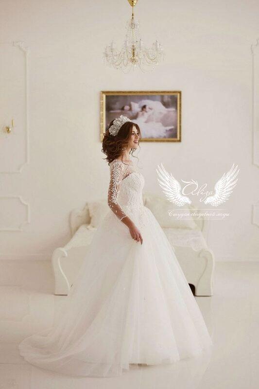 Свадебное платье напрокат ALIZA Свадебное платье «Konfetti» - фото 3