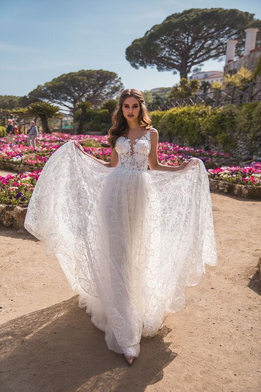 Свадебный салон Bonjour Galerie Свадебное платье TAYANA из коллекции NEW COLLECTION - фото 2