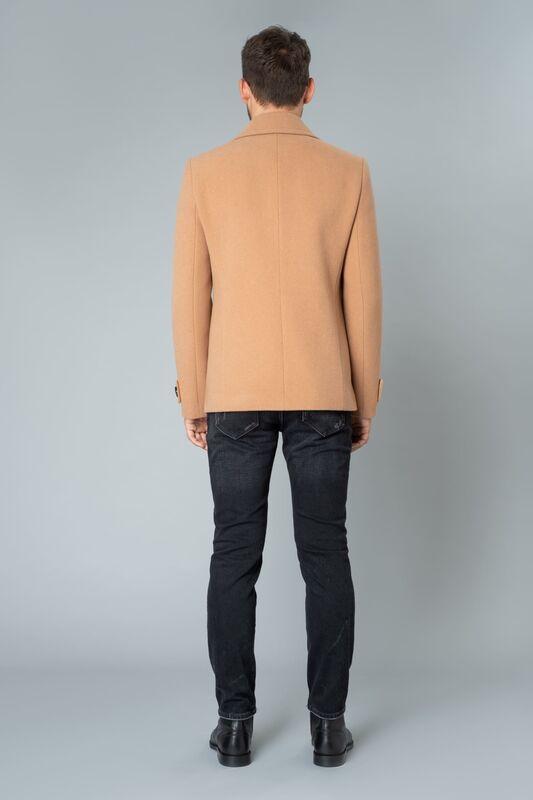 Верхняя одежда мужская Etelier Пальто мужское демисезонное 1М-9598-1 - фото 8