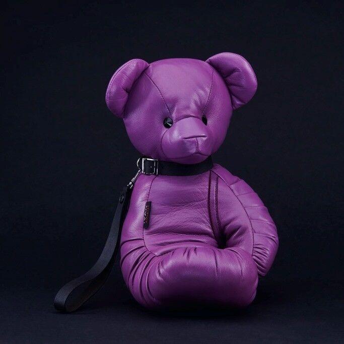 Магазин сумок IVAN AIPLATOV Сувенир-клатч Teddy Bear, фиолетовый - фото 1