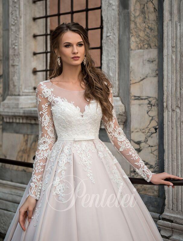 Свадебное платье напрокат Lavender Свадебное платье Jannyfer - фото 4