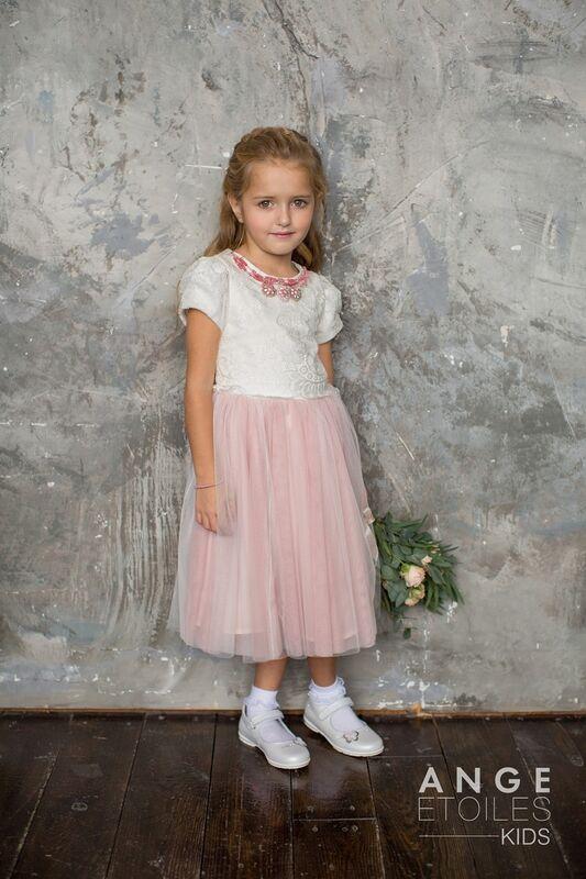 Вечернее платье Ange Etoiles Детское платье Kids Melissa - фото 3