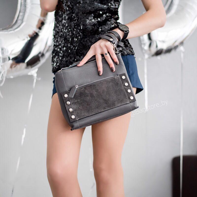 Магазин сумок Vezze Кожаная женская сумка C00429 - фото 3
