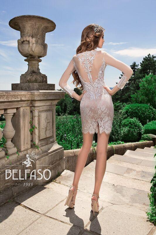Свадебный салон Belfaso Свадебное платье Rami - фото 3