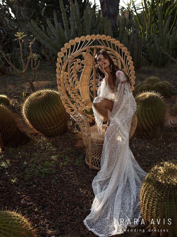 Свадебный салон Rara Avis Платье свадебное,  Wild Soul Freida - фото 4