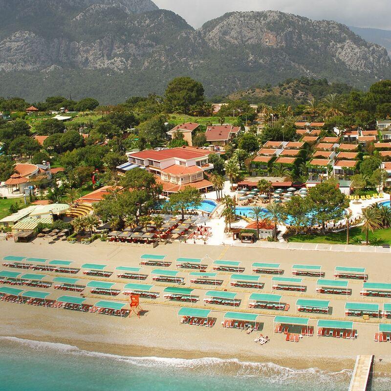 Туристическое агентство LetoTravel Пляжный тур в Турцию, Кемер, Club Boran Mare Beach 5* - фото 1